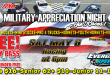 RE/MAX Elite Military Appreciation Night Presented by Speedway Chevrolet!