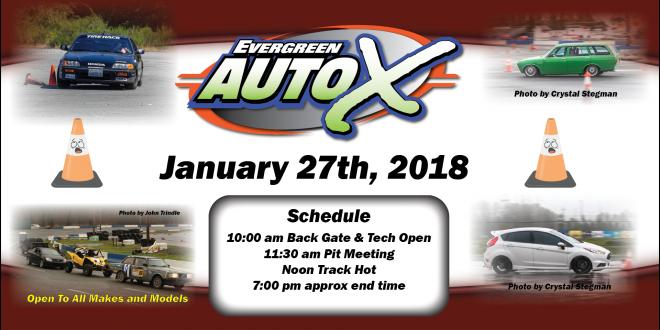 January 27th, 2018 Auto X