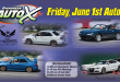 June 1st, 2018 Auto X Registration