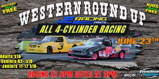 June 23rd, 2018 J2 Racing Parts Western Round Up