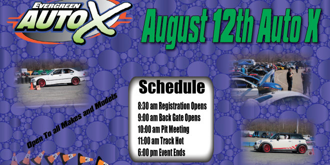 August 12th Auto X powered by 425 Motorsports