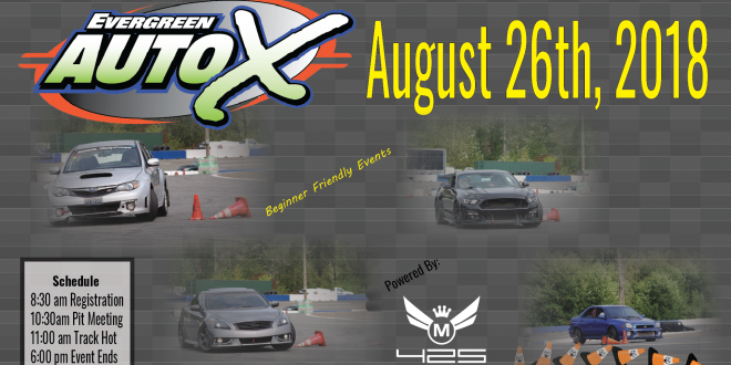 August 26th Auto X Powered by 425 Motorsports