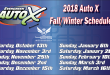 Evergreen Auto X Fall/Winter Schedule