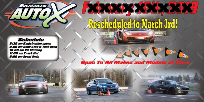 March 3rd AutoX Powered by 425 Motorsports!