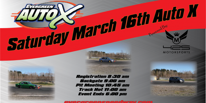 March 16th Auto X Powered by 425 Motorsports