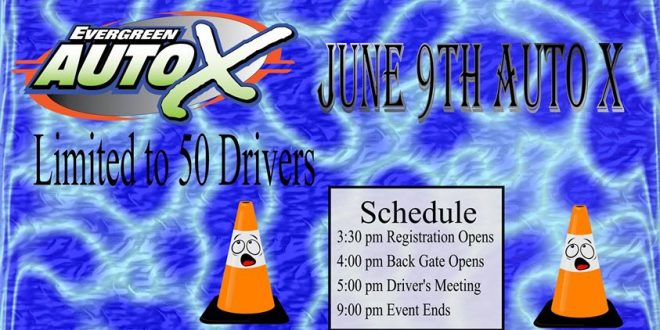 Autocross June 9th Registration Page