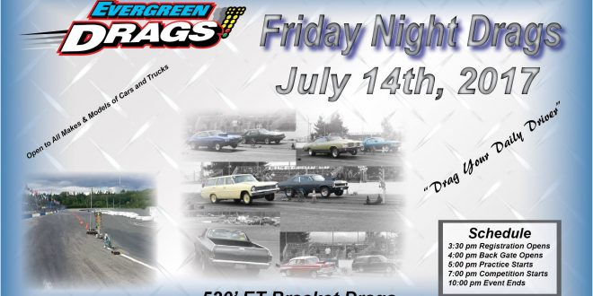 July 14th Friday Night Drags!