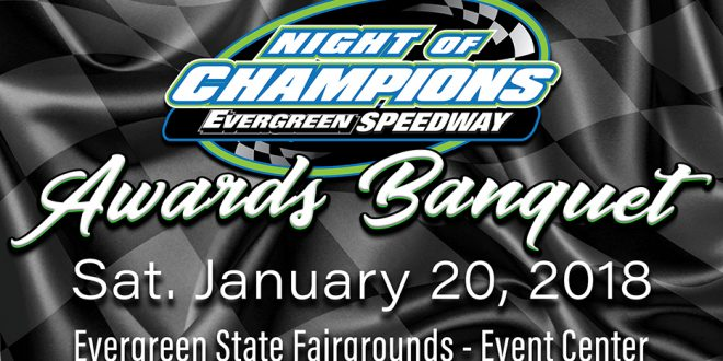 The 2017 Evergreen Speedway Night of Champions Registration Page