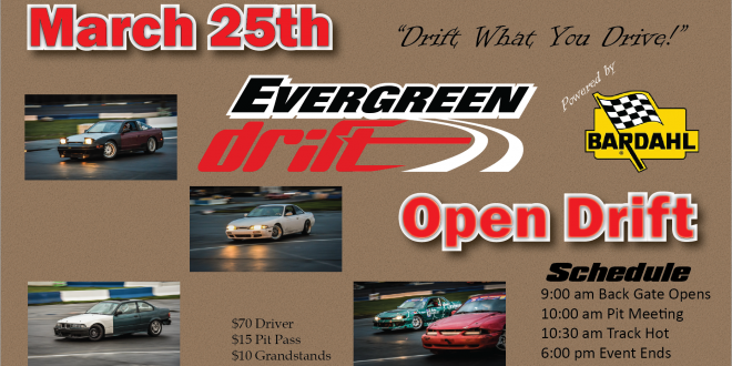 2018 March 25th Open Drift