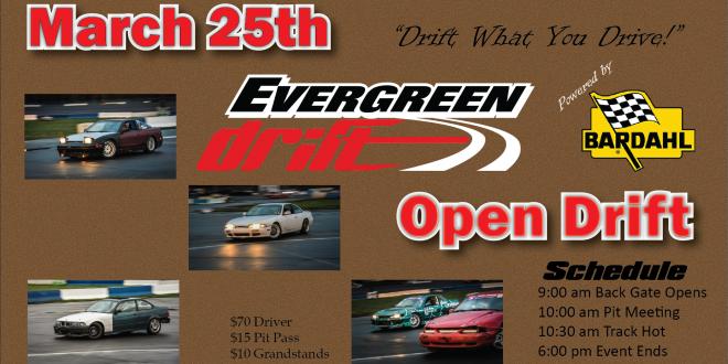 2018 March 25th Open Drift