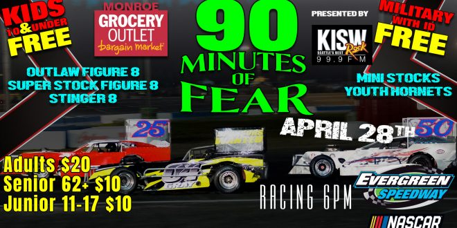 April 28th 90 Minutes of FEAR