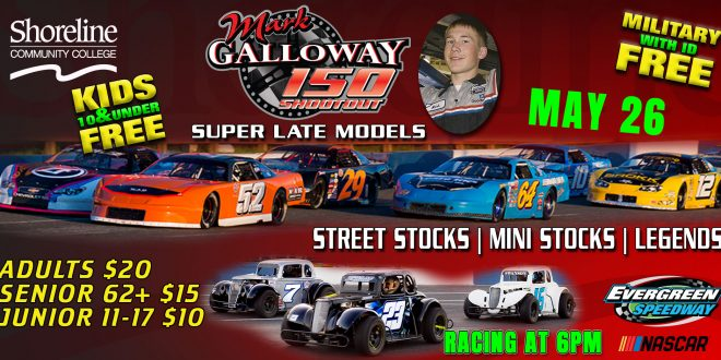 5-26 Mark Galloway 150 with Schedule