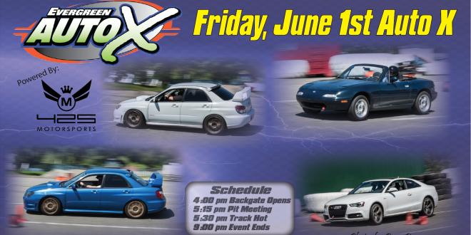 June 1st, 2018 Auto X Registration