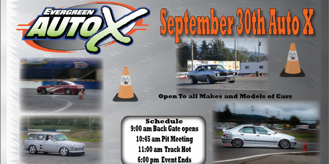 September 30th Auto X Powered by 425 Motorsports