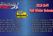 Evergreen Drift Fall/Winter Schedule