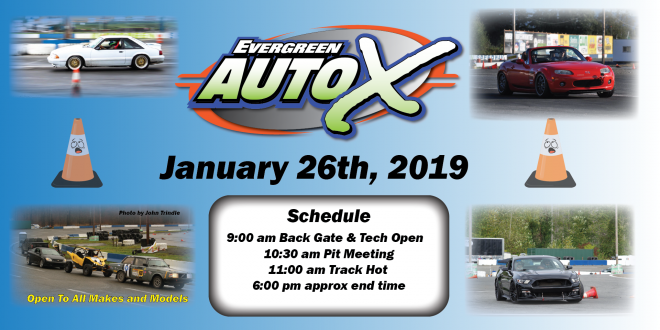 January 26th Auto X Powered by 425 Motorsports