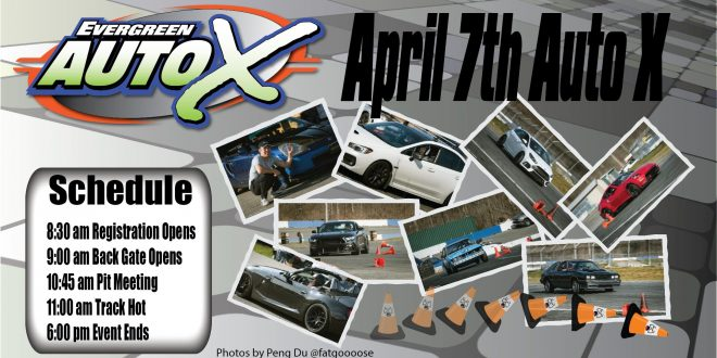 April 7th, 2019 Auto X Powered by 425 Motorsports