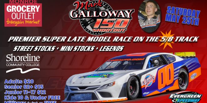 Mark Galloway 150 Shootout on the 5/8s!