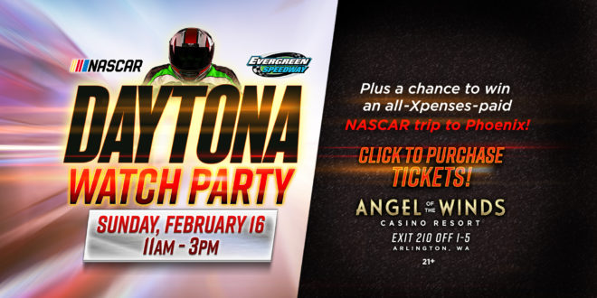 Watch the Daytona 500 at Angel Of The Winds Casino Resort!