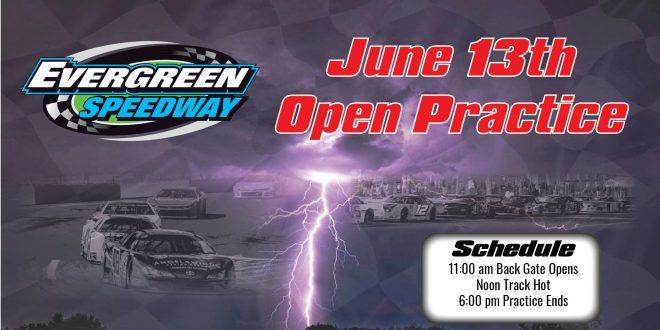 June 13th Open Practice