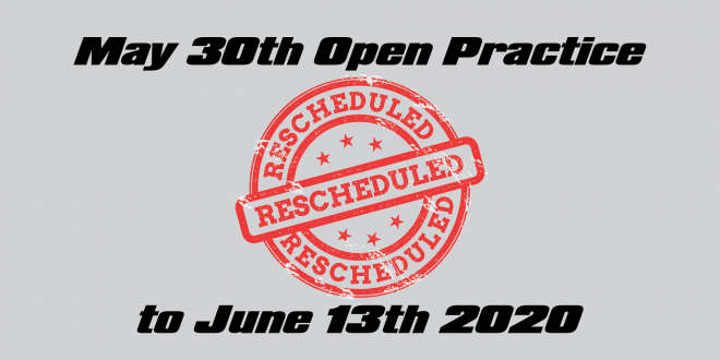 May 30th Open Practice