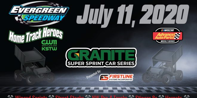 July 11, 2020 Granite Super Sprint Series & Home Track Heroes