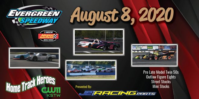 August 8, 2020 NASCAR Home Track Heroes