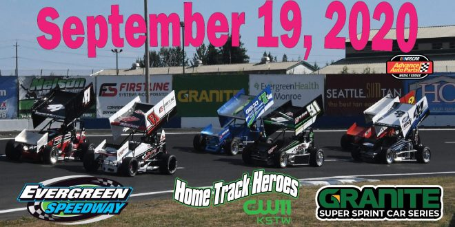 Septmber 19, 2020 Granite Super Sprint Series & Home Track Heroes