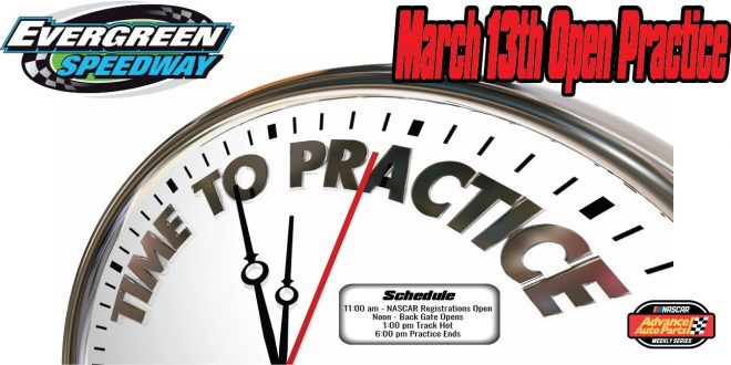 NASCAR Open Practice March 13th