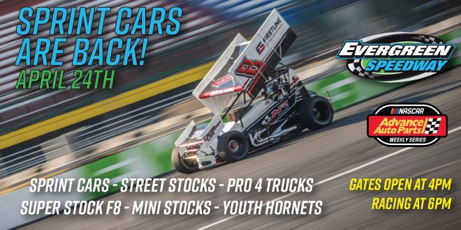 April 24th Granite Sprint Car Series