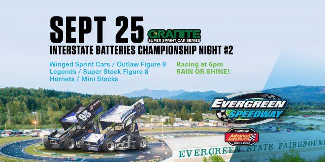September 25th, 2021 Championship Night 2
