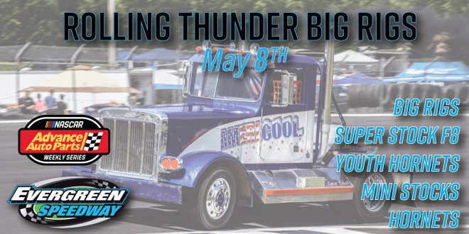 May 8th Rolling Thunder Big Rigs