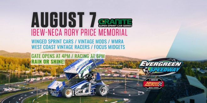 August 7th, 2021 Rory Price Memorial